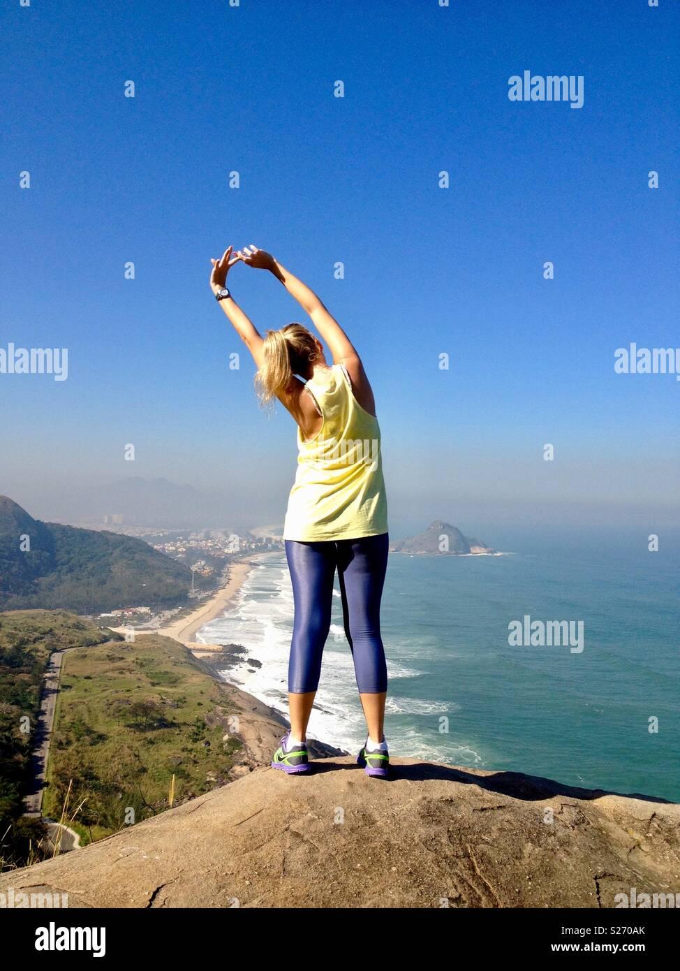 Prainha Rio de Janeiro - Stock Image
