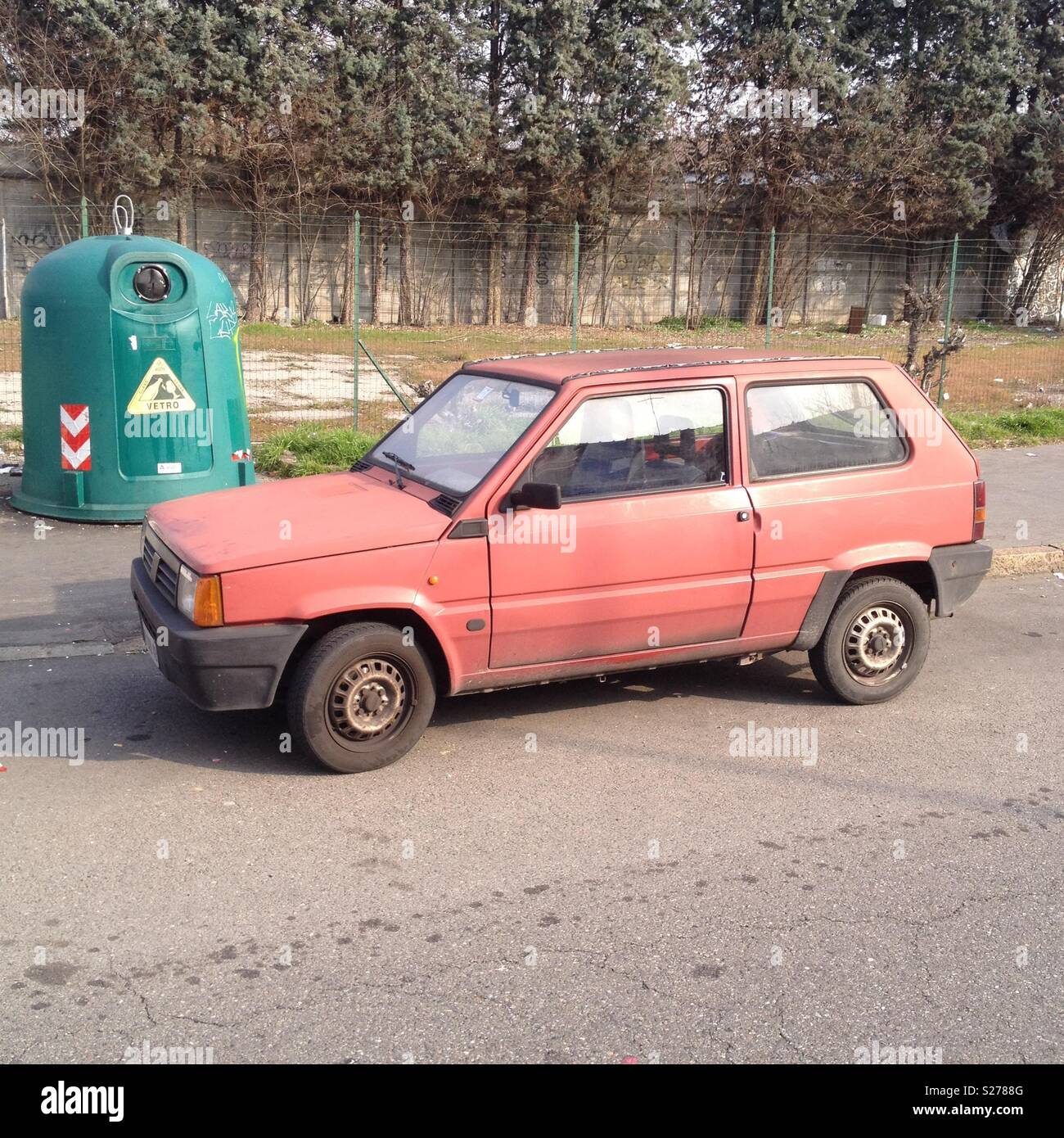 Fiat Panda High Resolution Stock Photography And Images Alamy