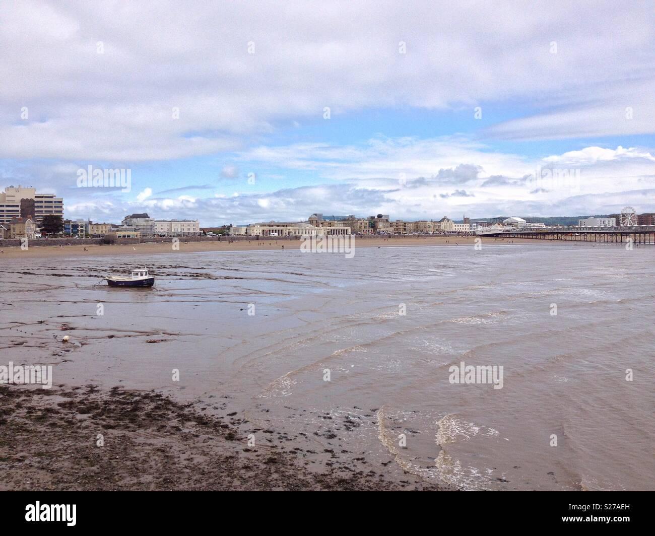 Weston-super-Mare, UK - Stock Image