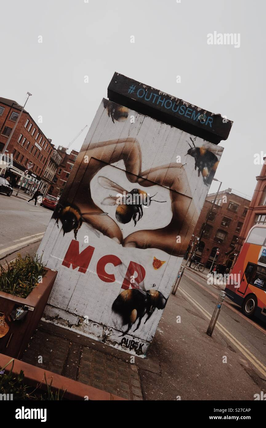 Manchester - Stock Image