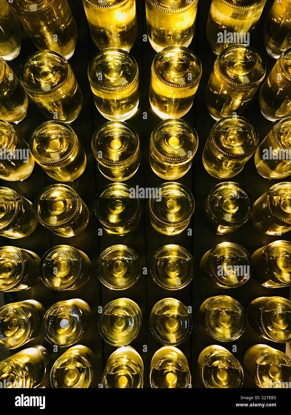 what does disgorged in mean on champagne bottle
