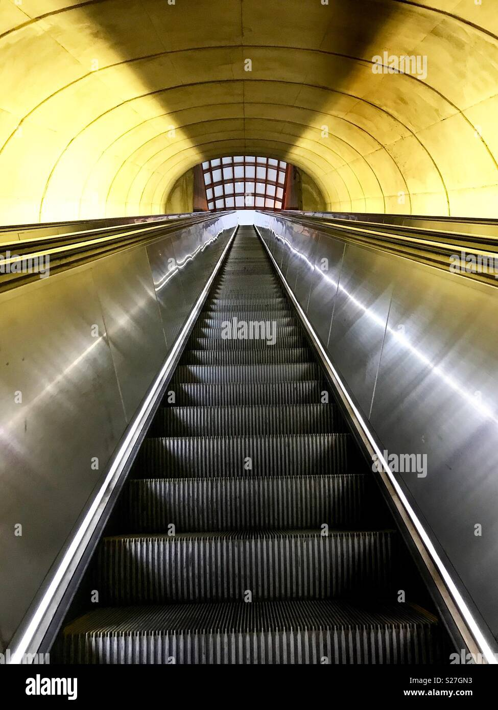 Metro, lines, and perspectives - Stock Image