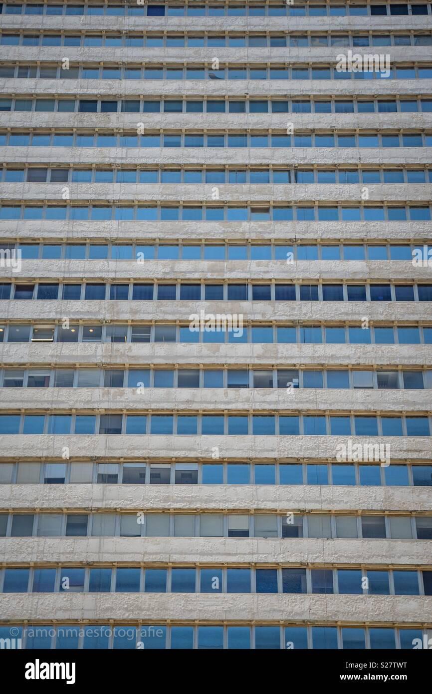 Facade Tower tel Aviv - Stock Image