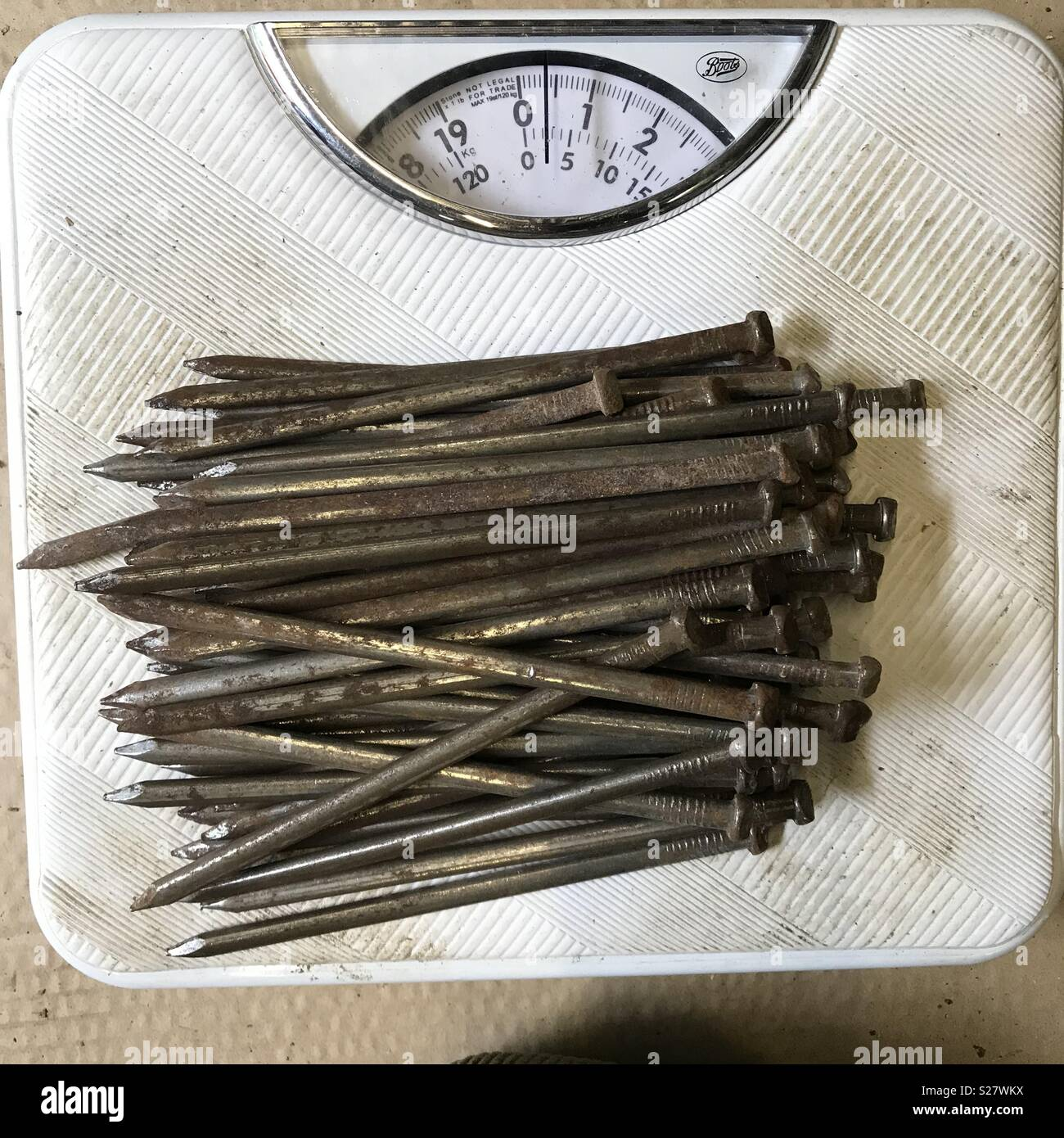 Old Rusty Nails Stock Photos Amp Old Rusty Nails Stock