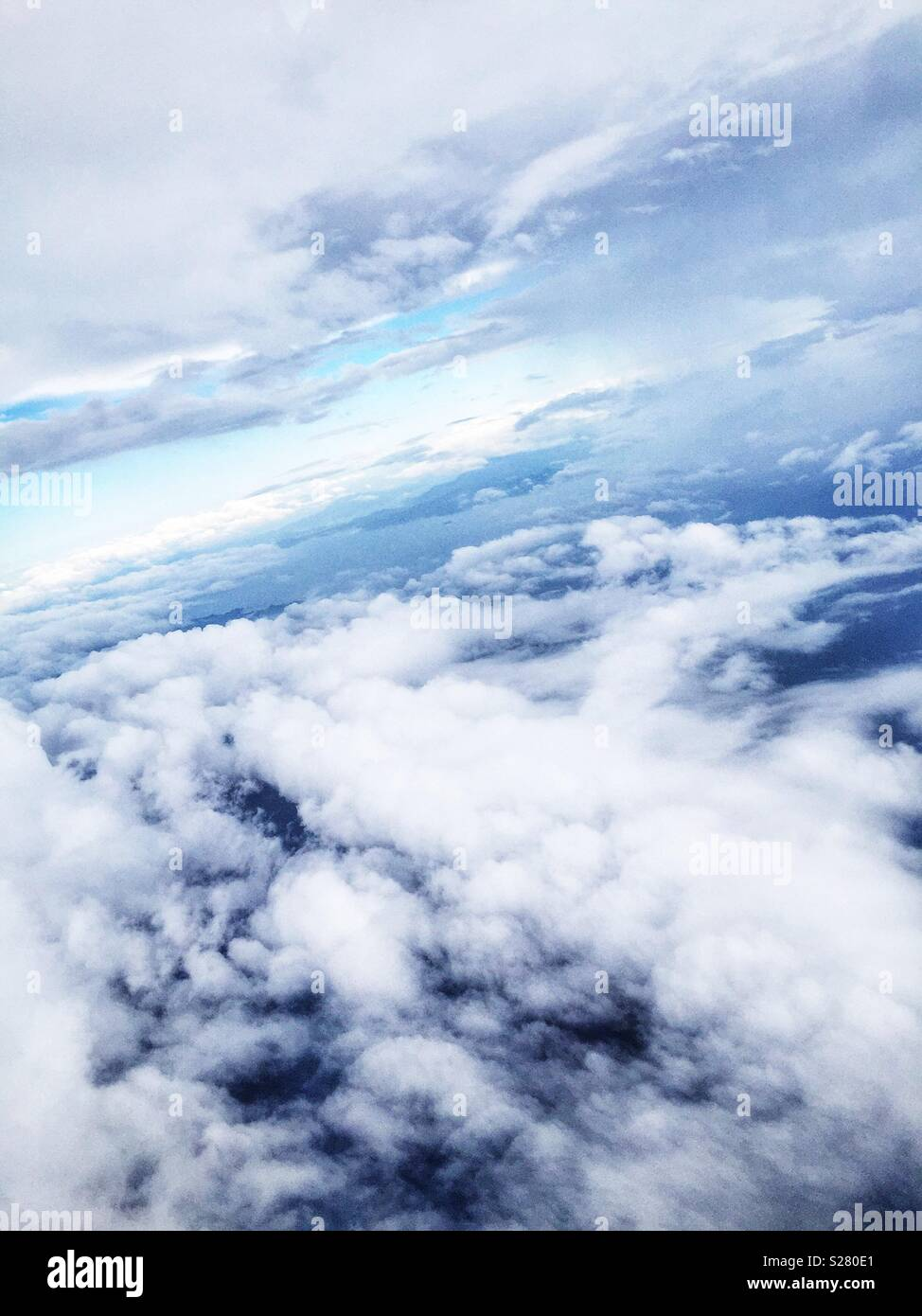 Clouds over the South China Sea - Stock Image