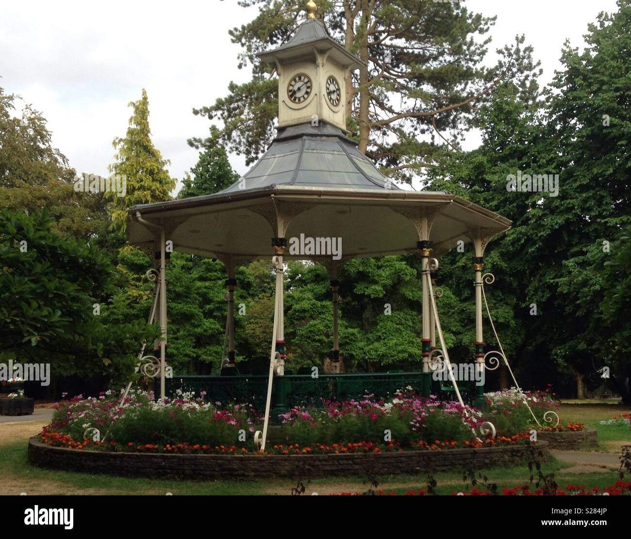 Victorian bandstand - Stock Image