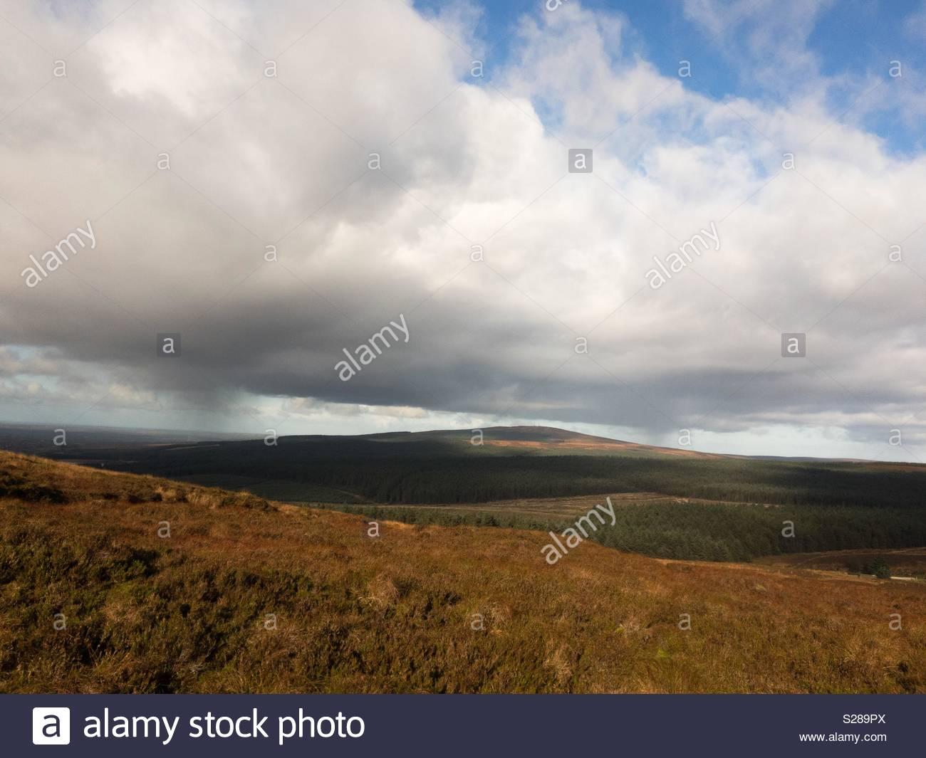 Slieveanorra Mountain - Stock Image