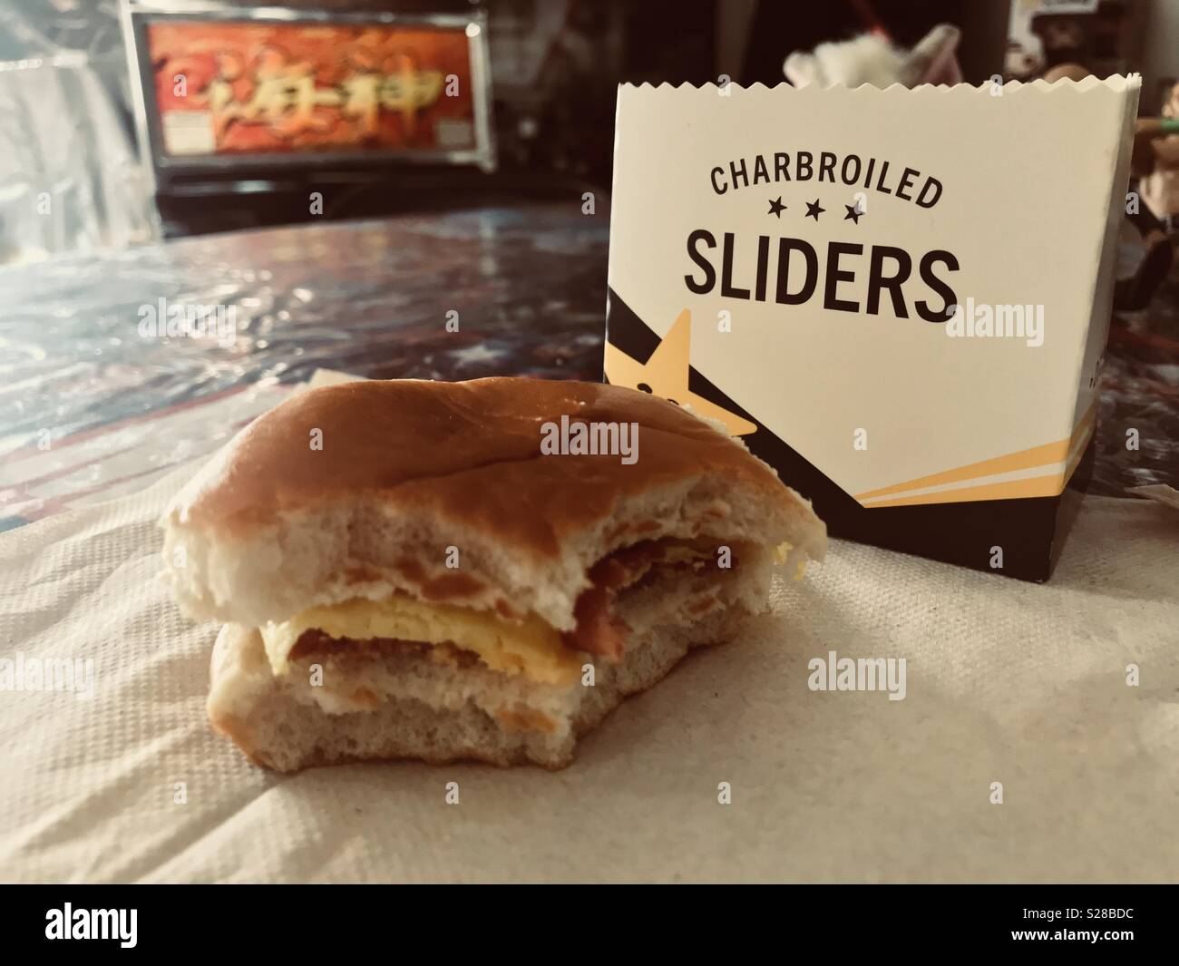 hardees high resolution stock photography and images alamy https www alamy com hardees breakfast sliders image311200552 html