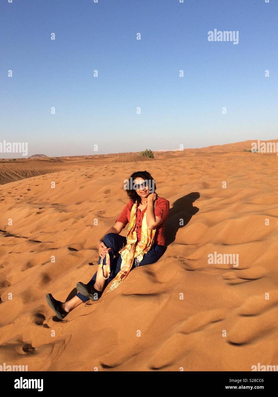 Sea of Sand - Stock Image