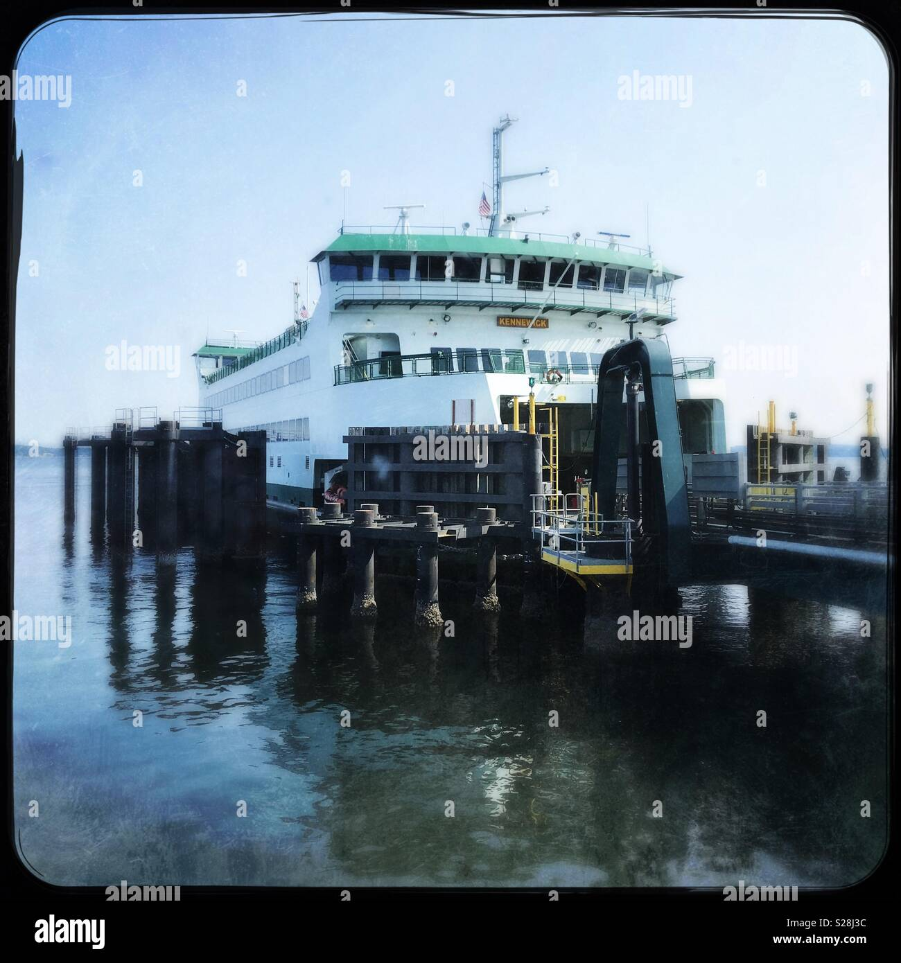 Washington State Ferry, the Kennewick - Stock Image