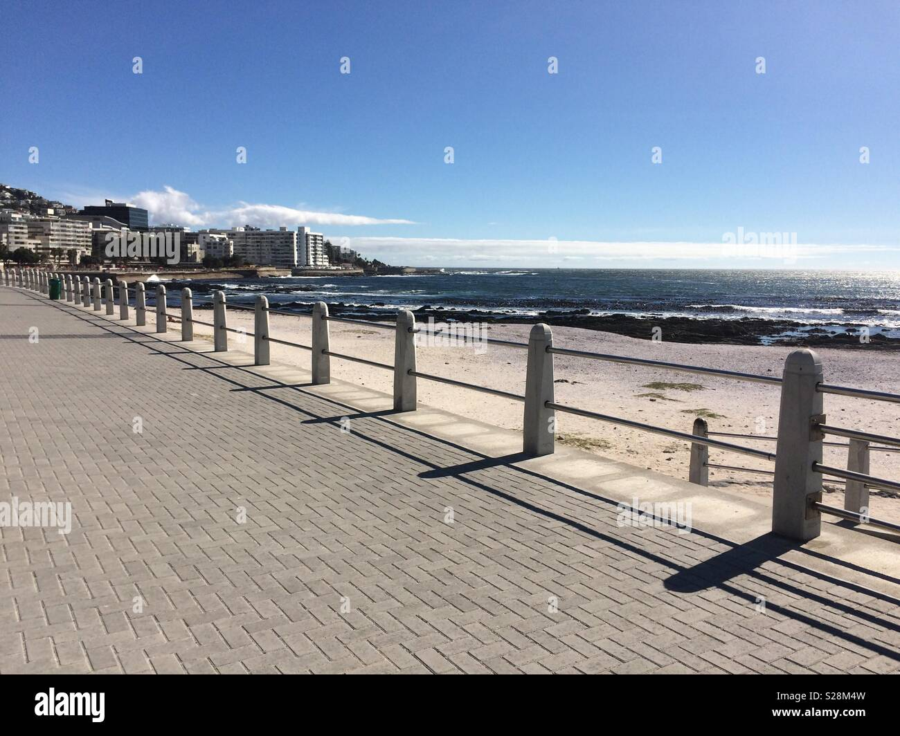View greenpoint towarards seapoint - Stock Image
