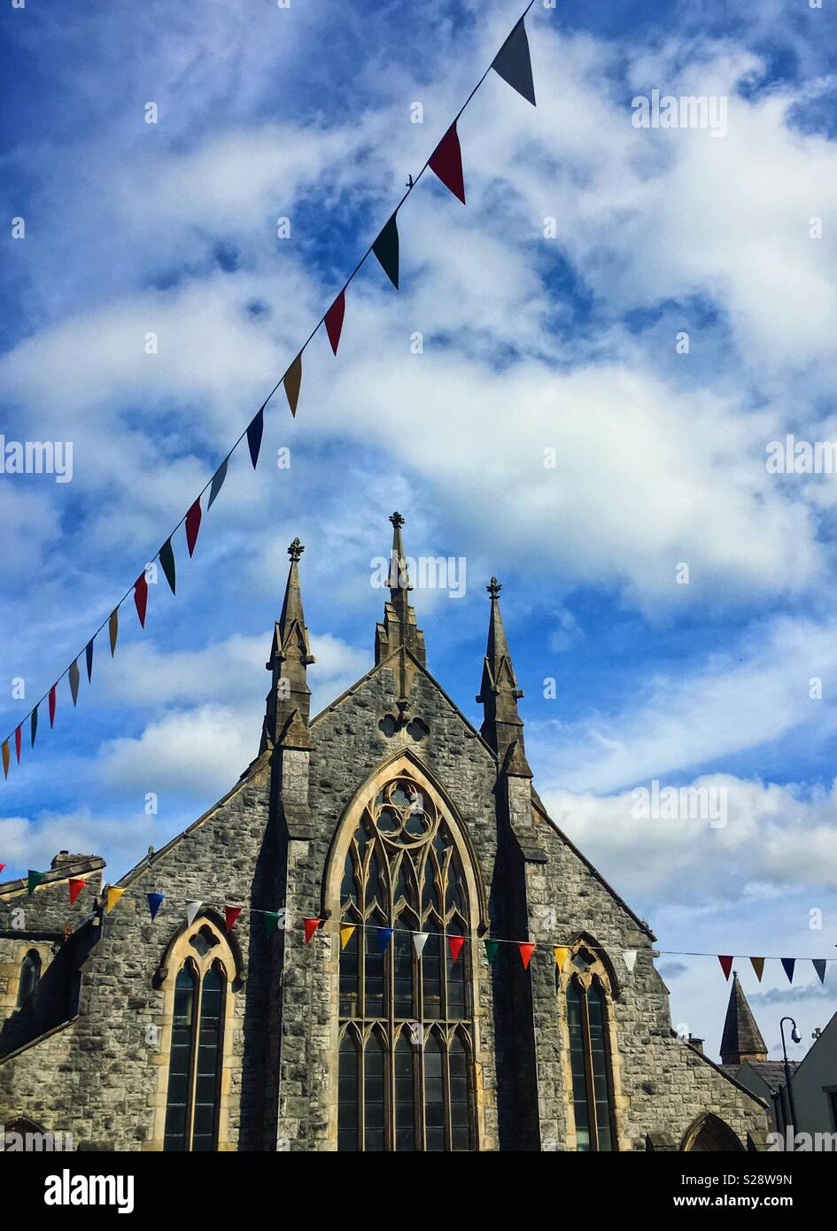 Church in Clitheroe - Stock Image