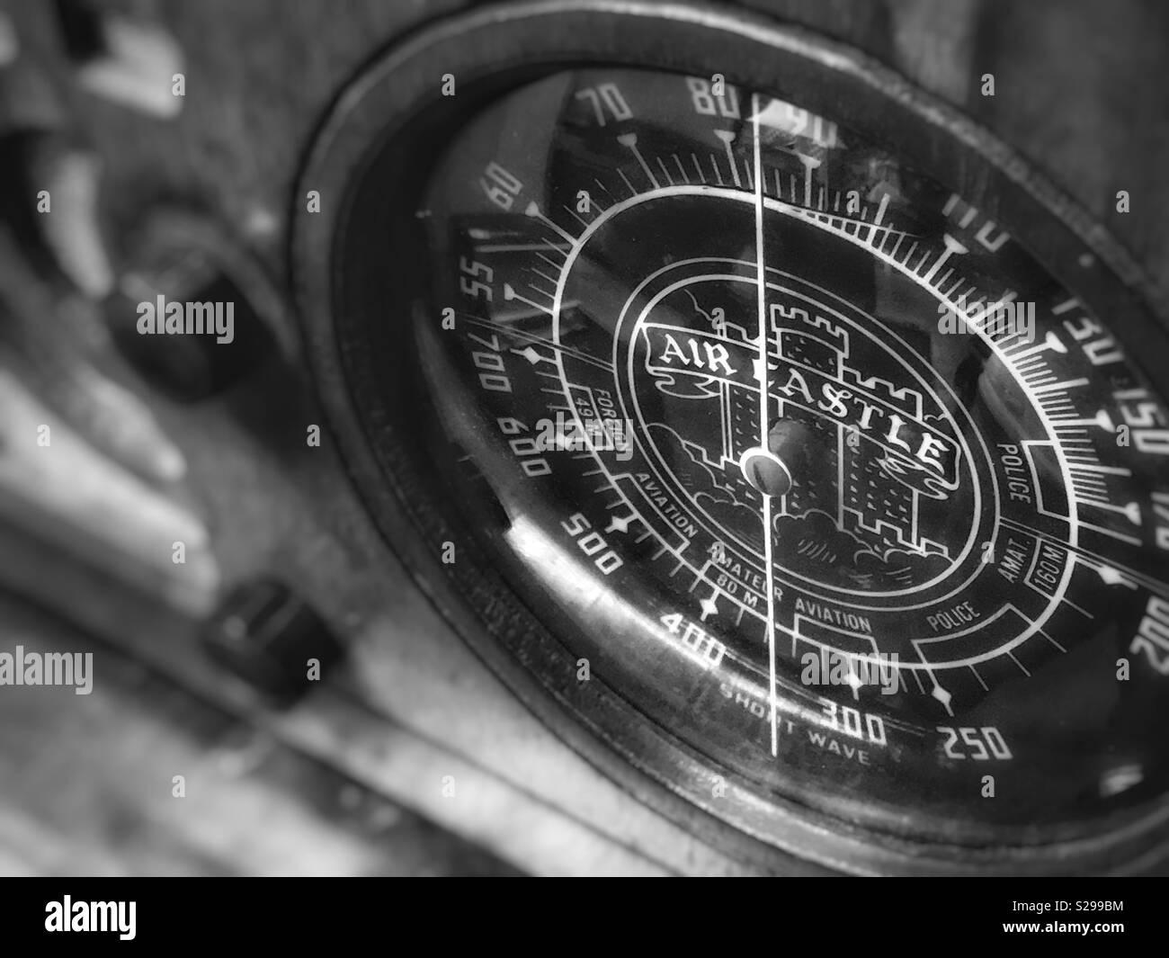 Vintage Radio Black And White Stock Photos Amp Images Alamy