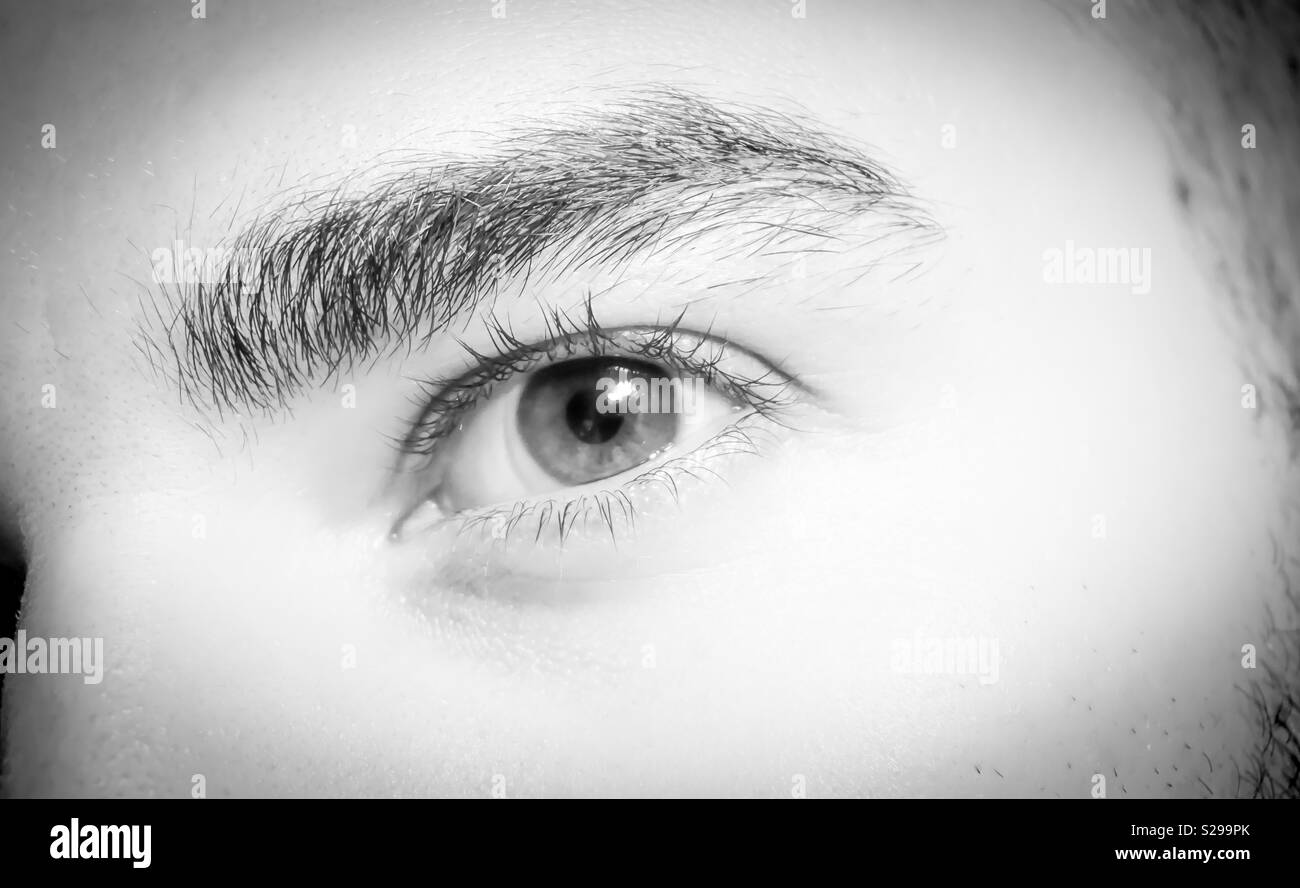Windows to our soul - Stock Image