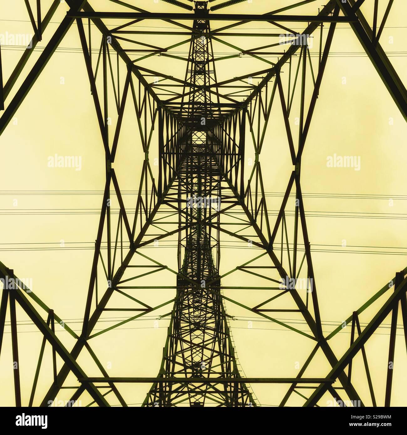 Powerlines - Stock Image