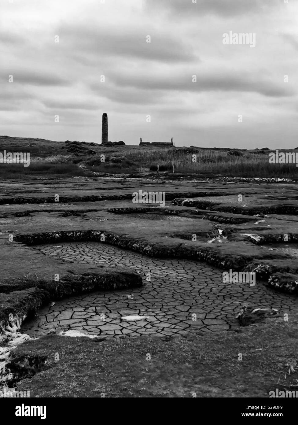 Island Life, West of Ireland - Stock Image
