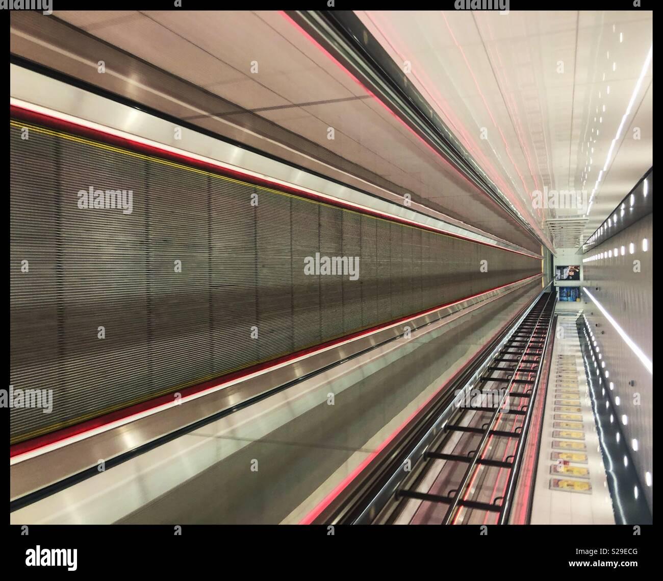 Subway Glasgow - Stock Image
