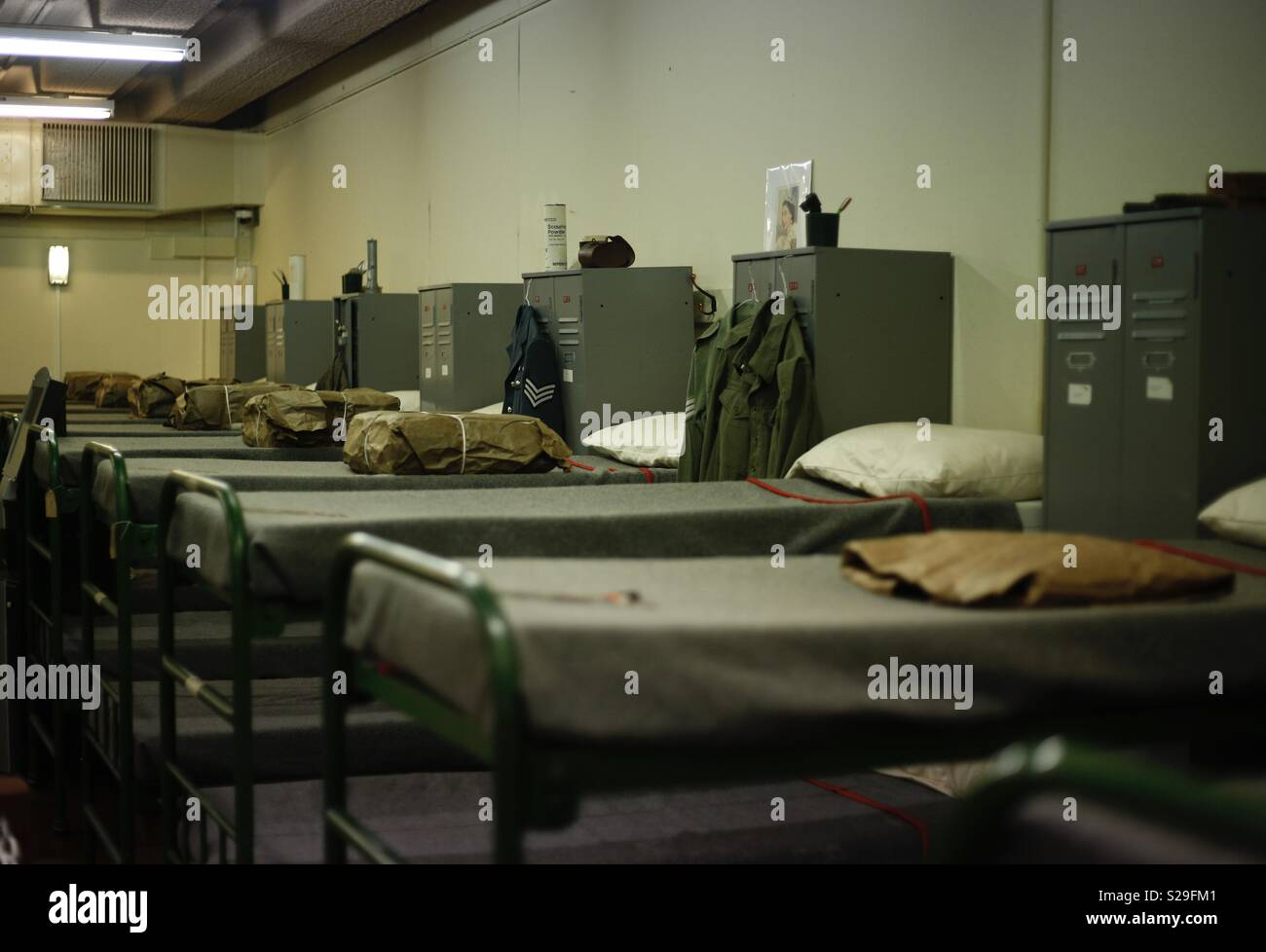 Barracks Beds Stock Photos & Barracks Beds Stock Images - Alamy