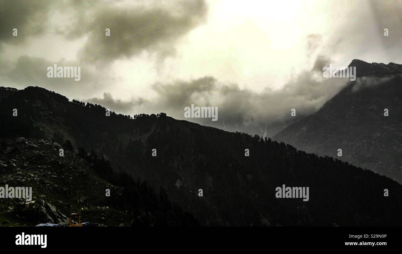 Mcleodganj, Himachal Pradesh, India - Stock Image