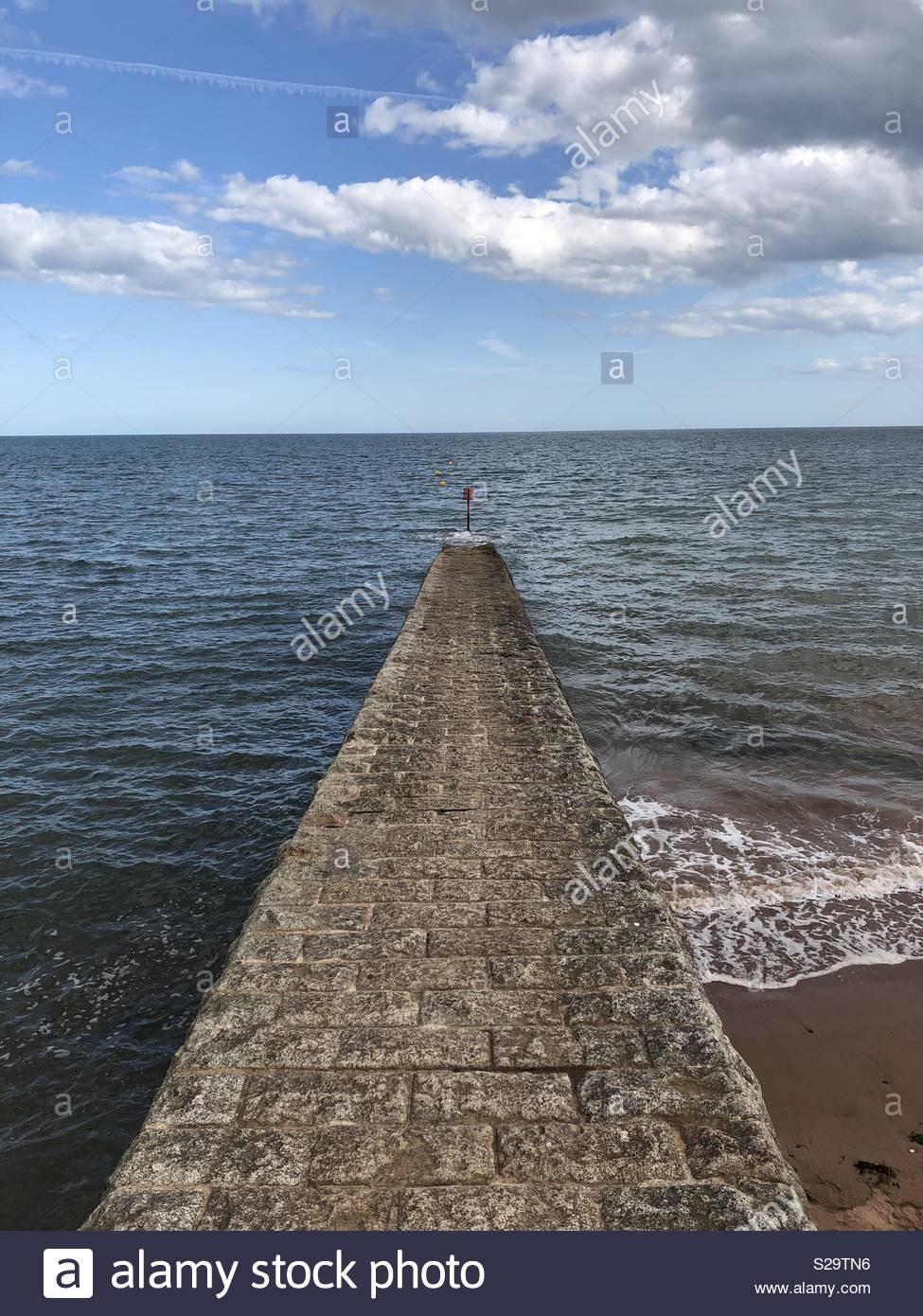 Dawlish beach - Stock Image