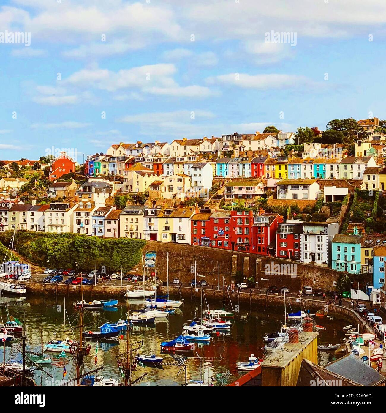 Brixham Harbour - Stock Image