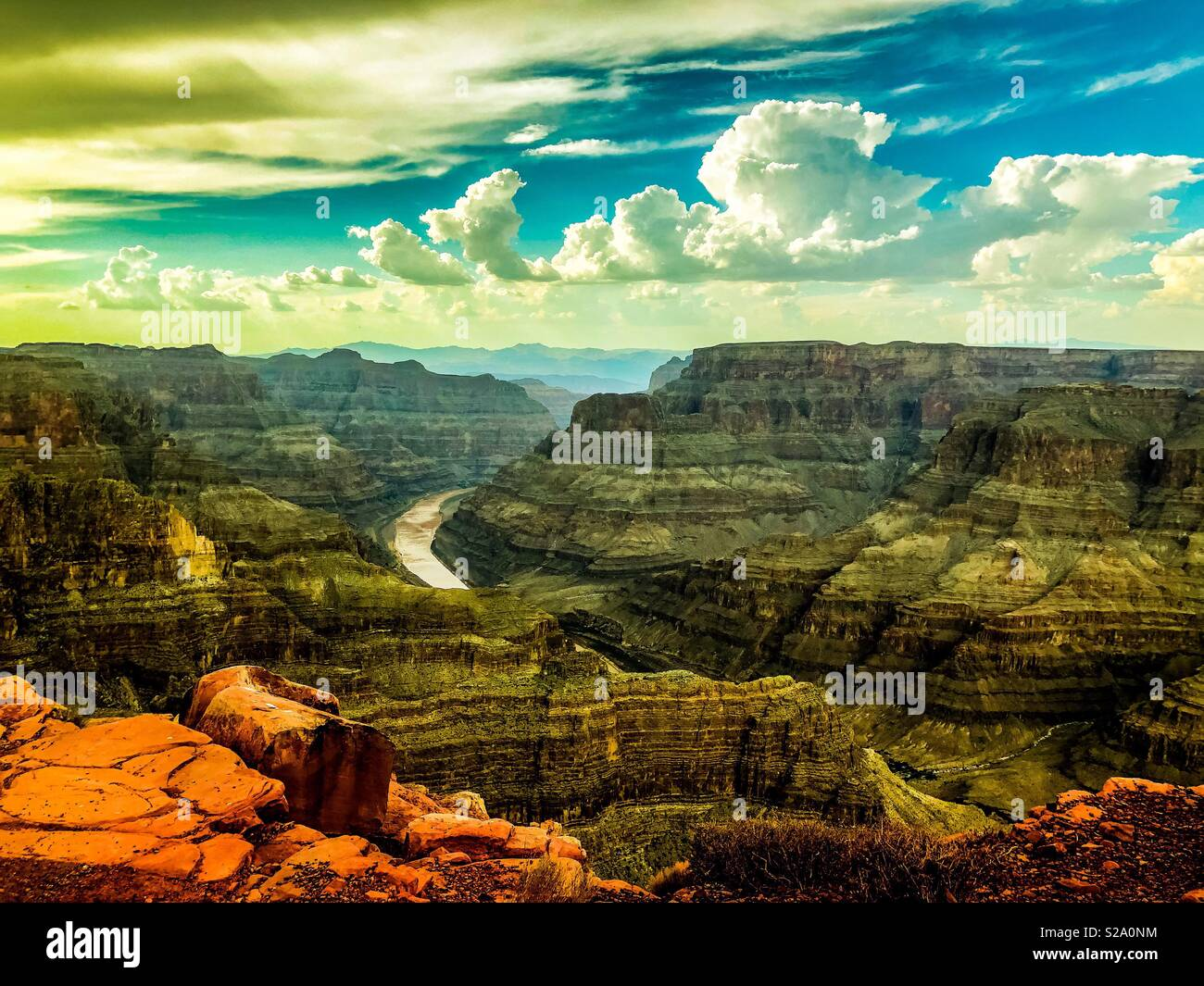 Picturesque Grand Canyon - Stock Image
