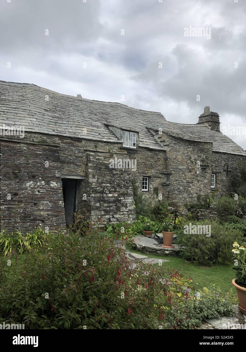 Magnificent National Trust Property Tintagel Old Post Office In Cornwall Interior Design Ideas Pimpapslepicentreinfo