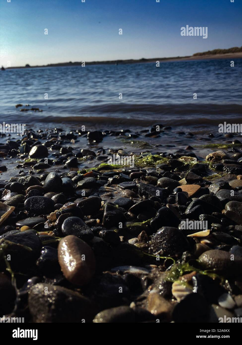 Malahide beach - Stock Image