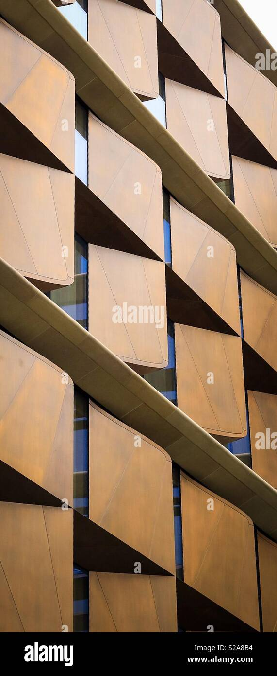 Bloomberg Building - Stock Image