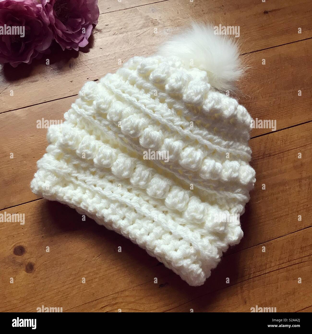 db0125c2 Crochet, crocheting, crochet hat, handmade, wool, crocheted, Pom Pom,  bobble hat