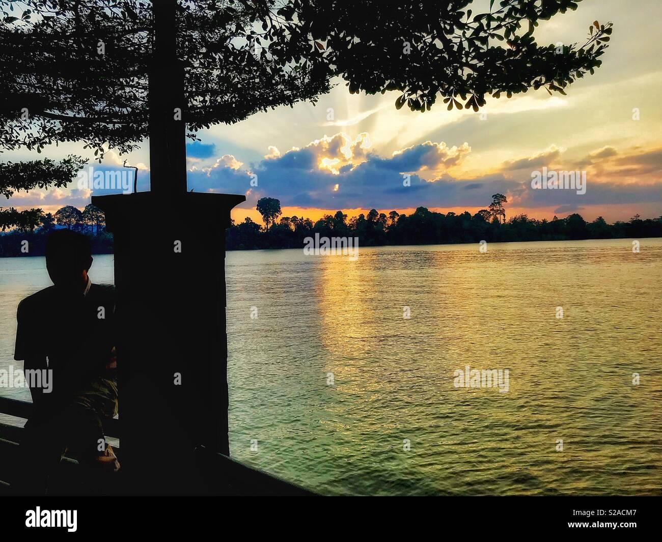 Tanjung Selor, Kalimantan Utara - Stock Image