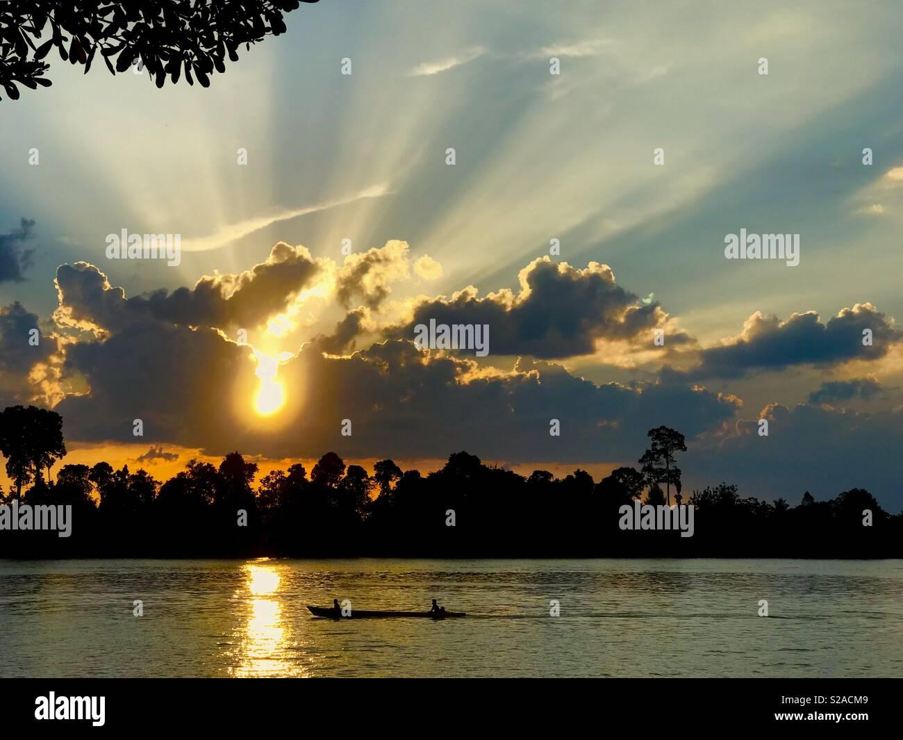 @Tanjung Selor, kalimantan Utara - Stock Image