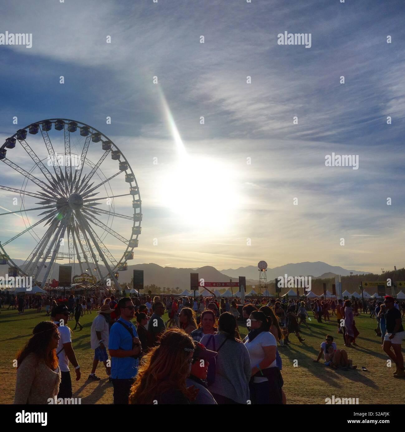 Coachella Festival Stock Photos & Coachella Festival Stock