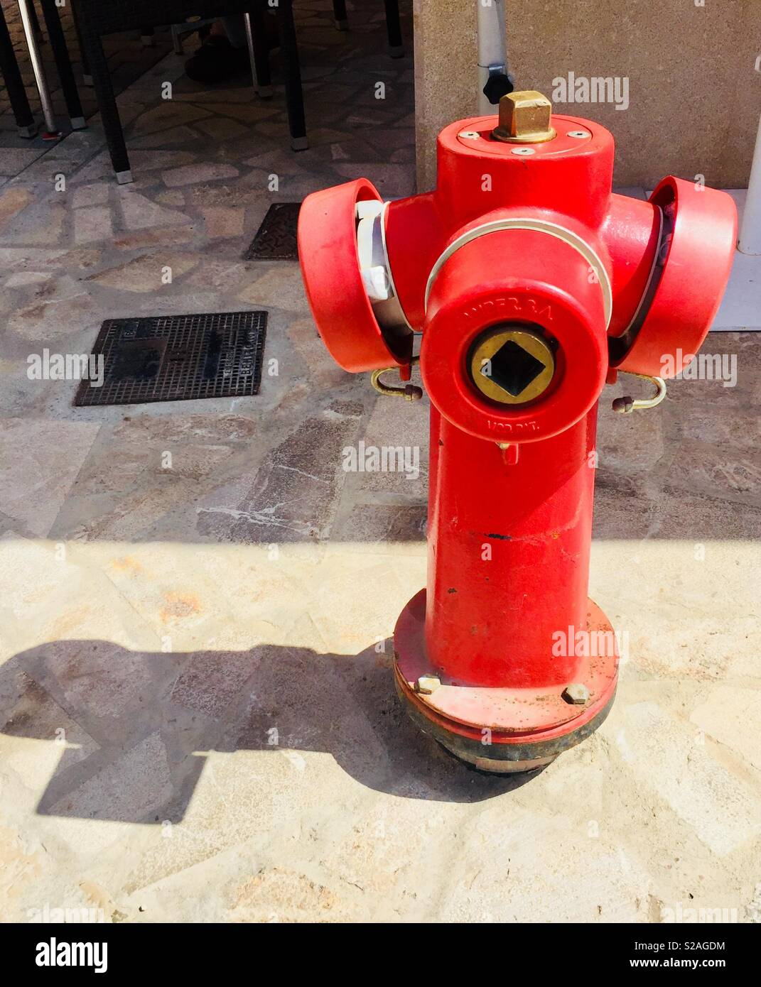 Water hydrant - Stock Image