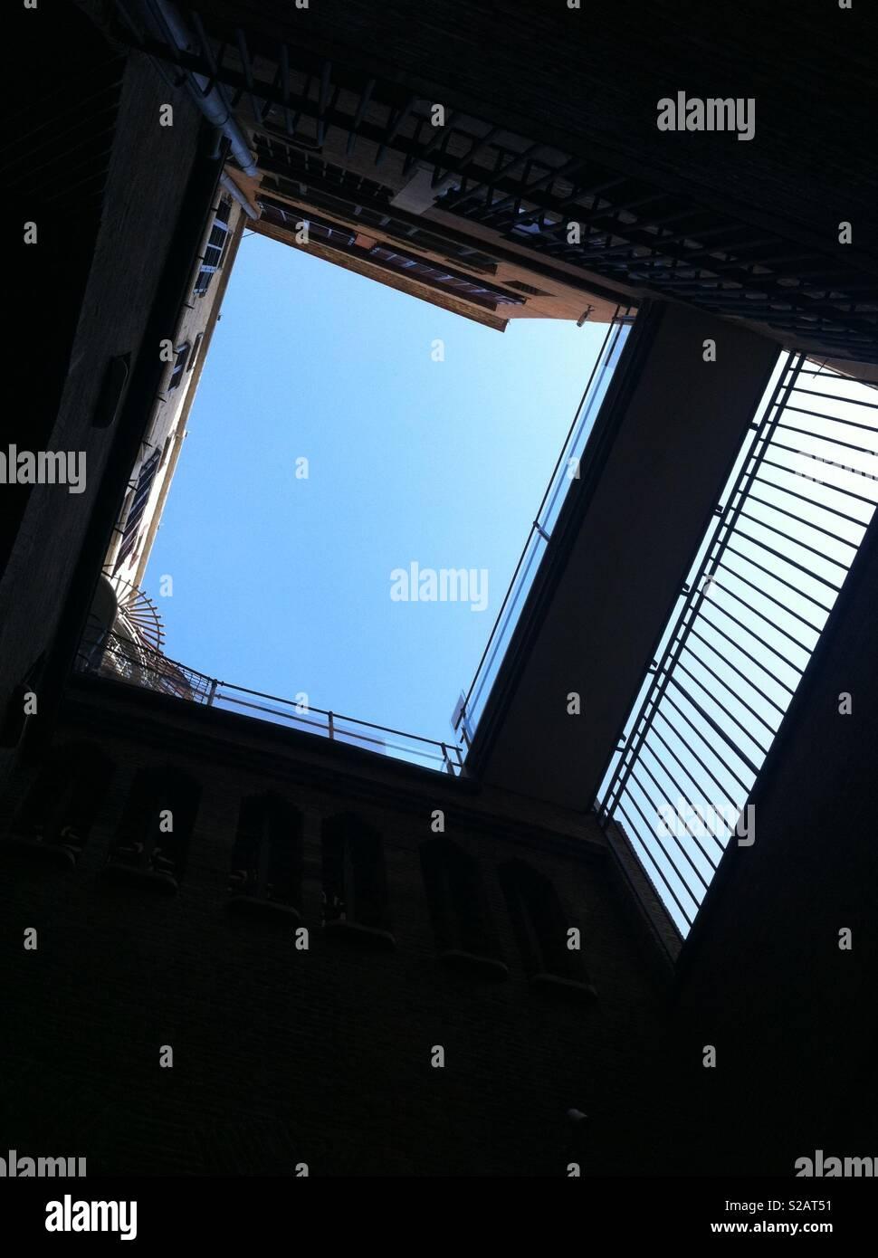 Sky shot - Stock Image