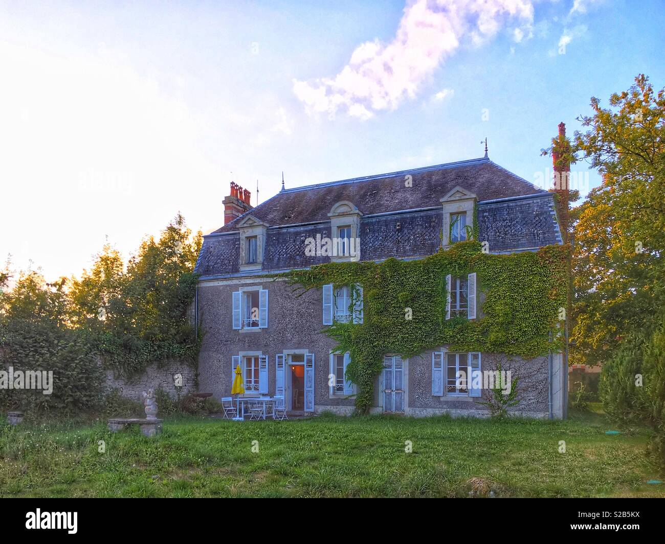 Old French Farmhouse Normandy Stock Photo Alamy
