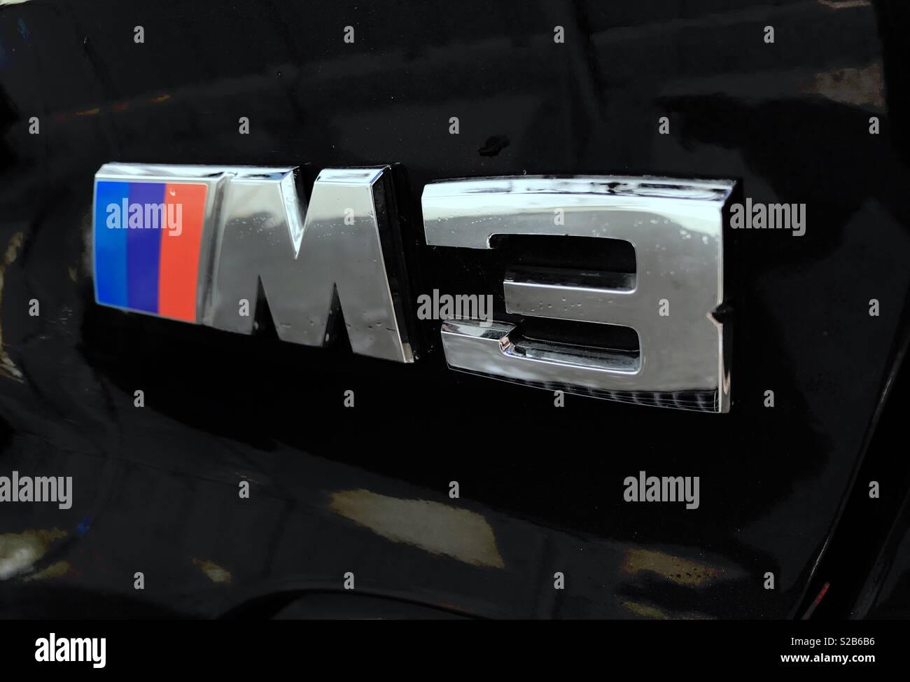 Bmw M3 Logo Stock Photo 311262426 Alamy