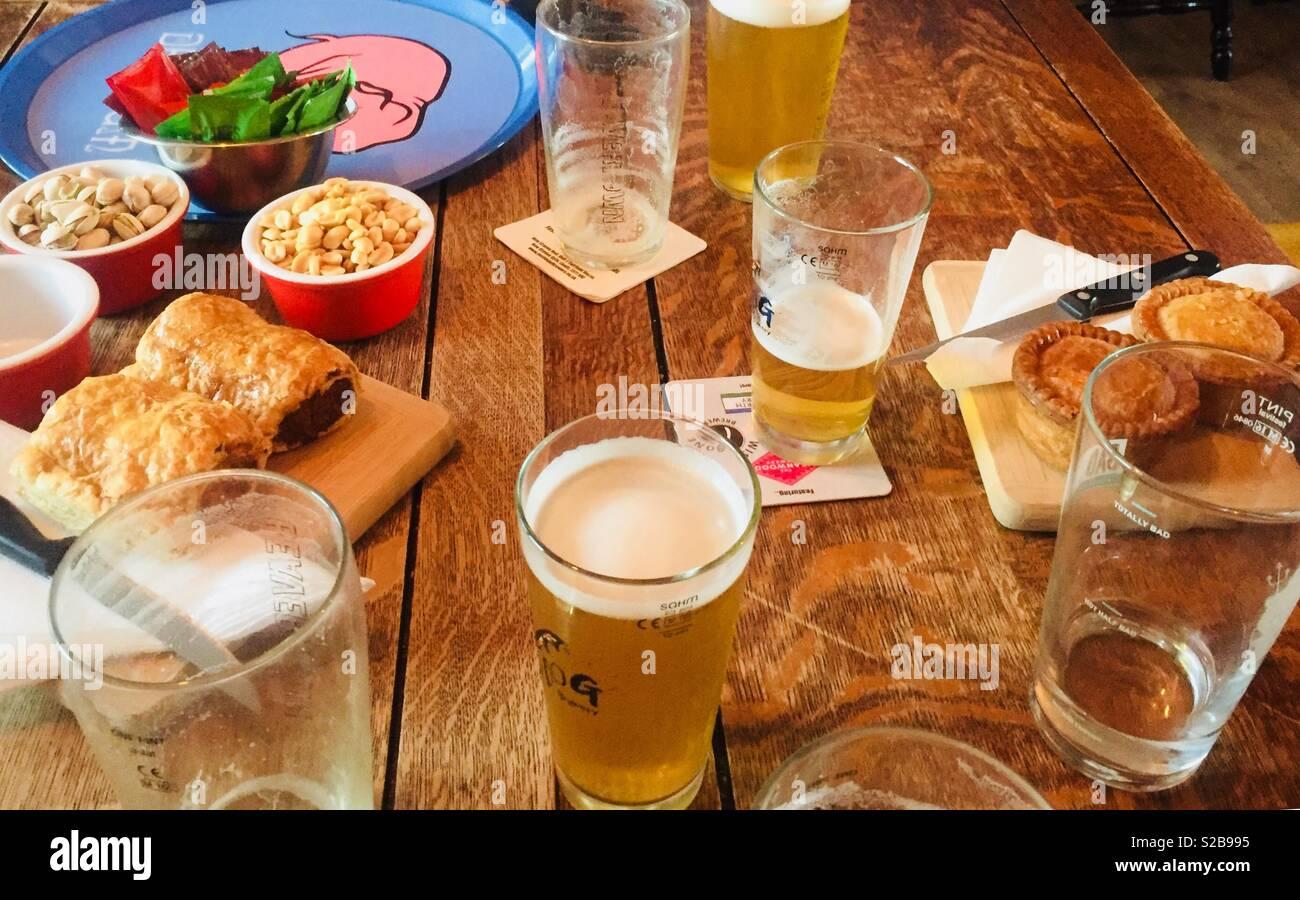 Pub grub Stock Photo