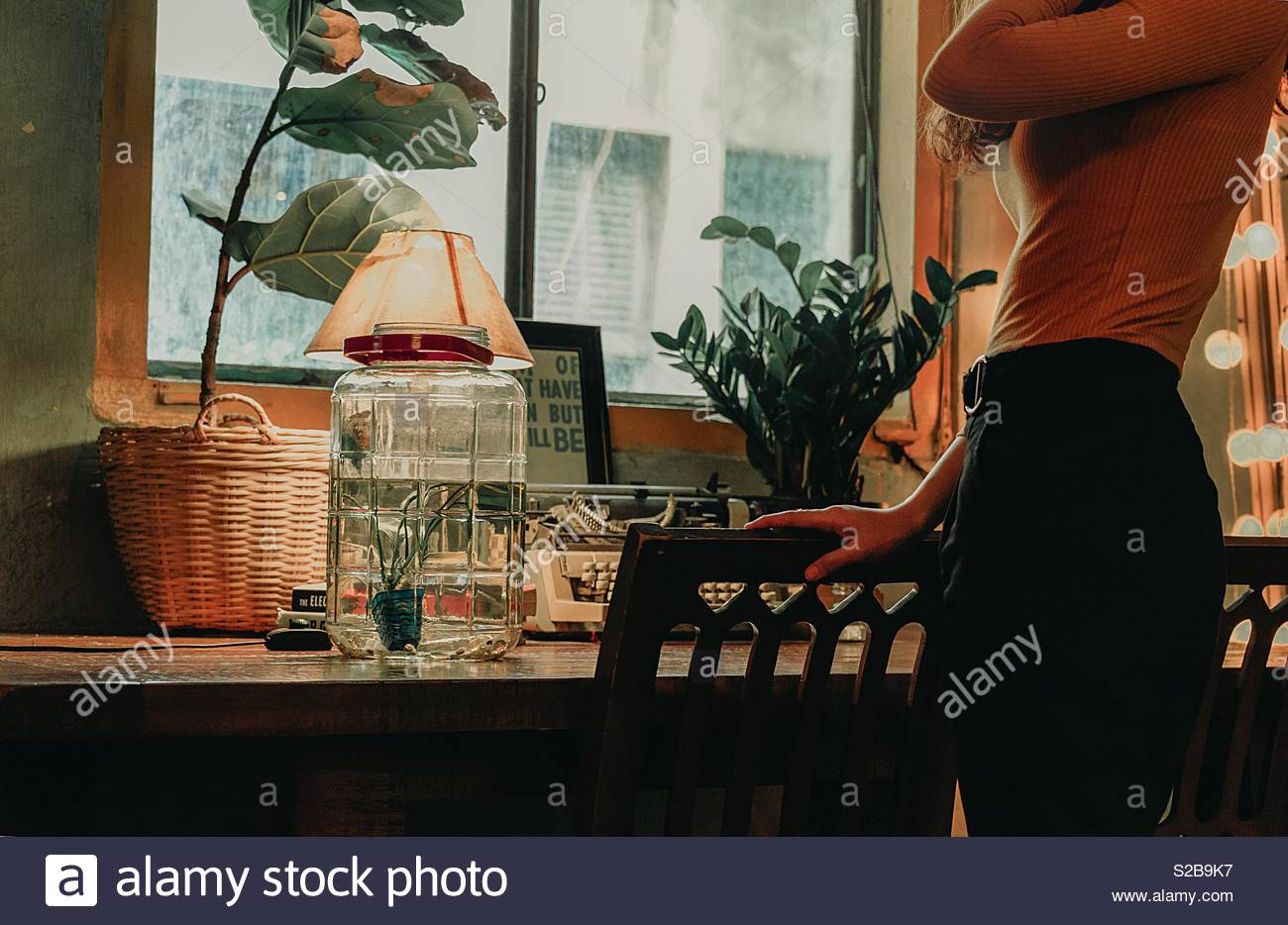 Going to work - Stock Image