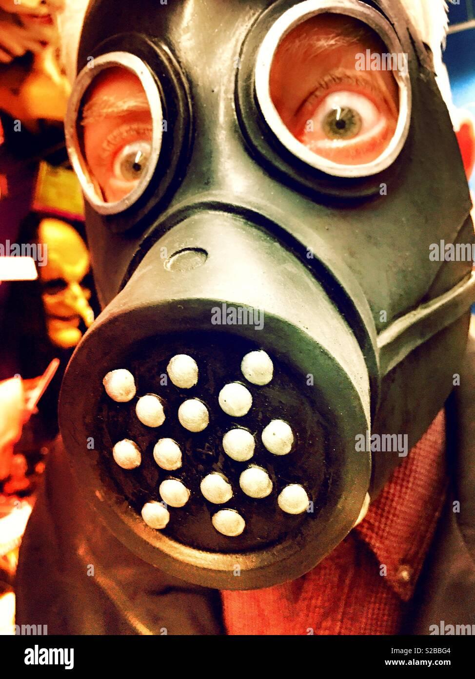 Creepy Gas Mask Stock Photos & Creepy Gas Mask Stock Images