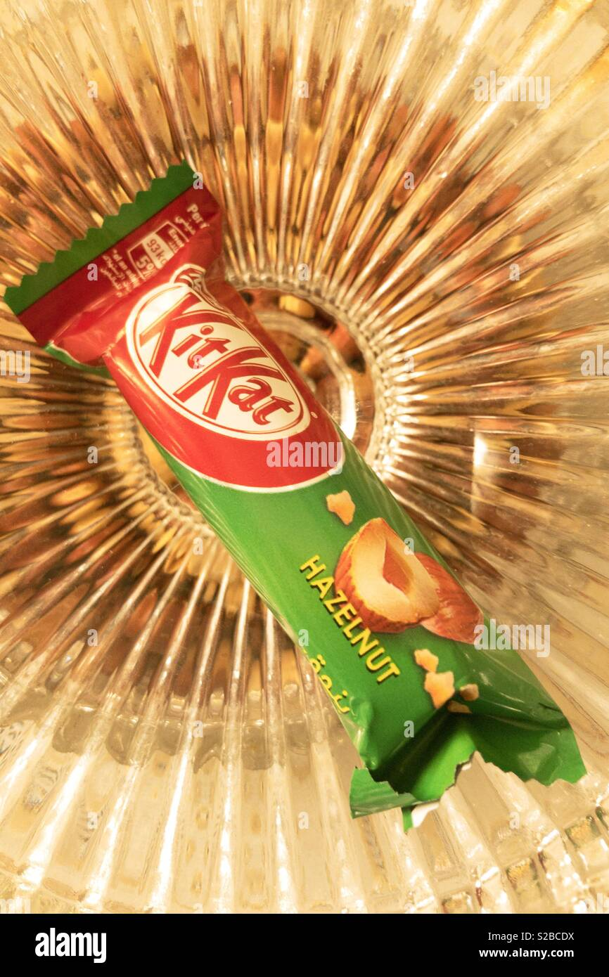 """""""Have a break """" with KitKat - Stock Image"""