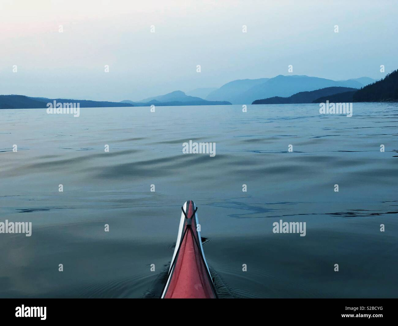 Welcome to Desolation Sound! - Stock Image