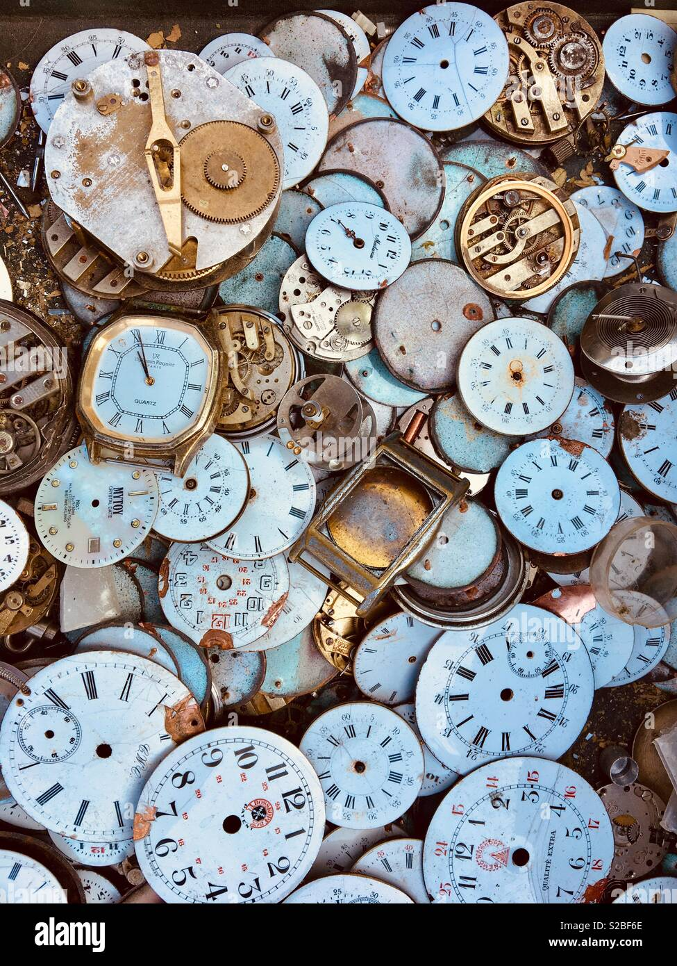 Timepieces - Stock Image