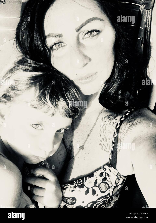 L'amore di una mamma - Stock Image