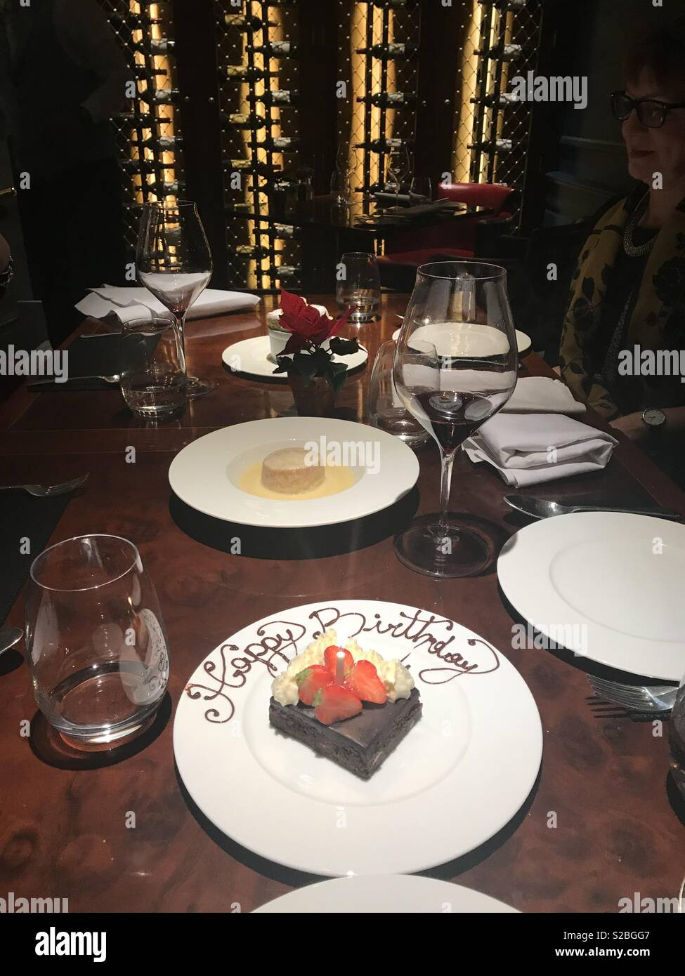 Happy Birthday Chocolate Slice Restaurant Gift