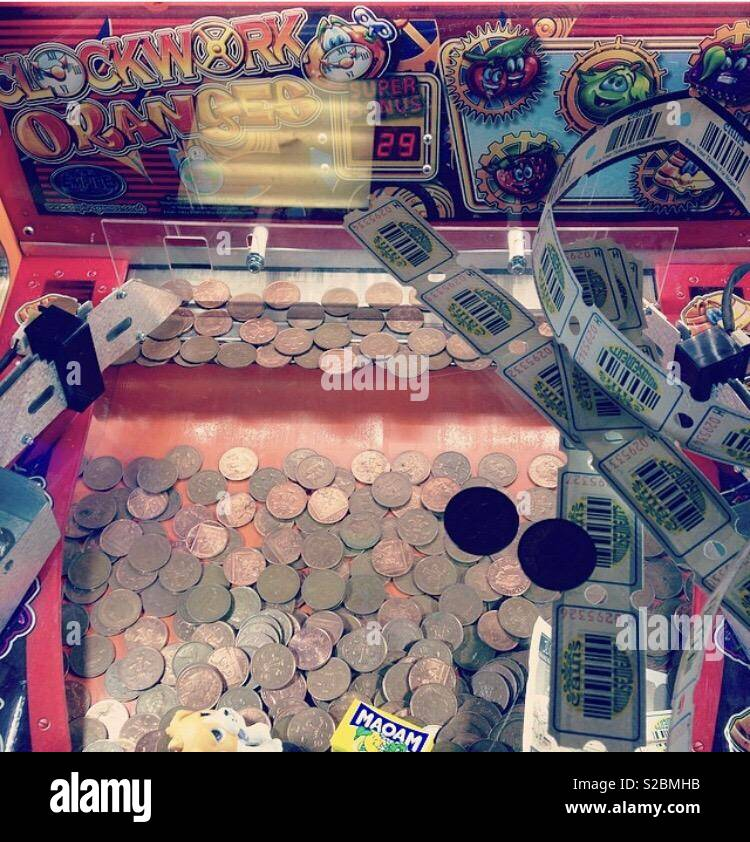2p machines - Stock Image