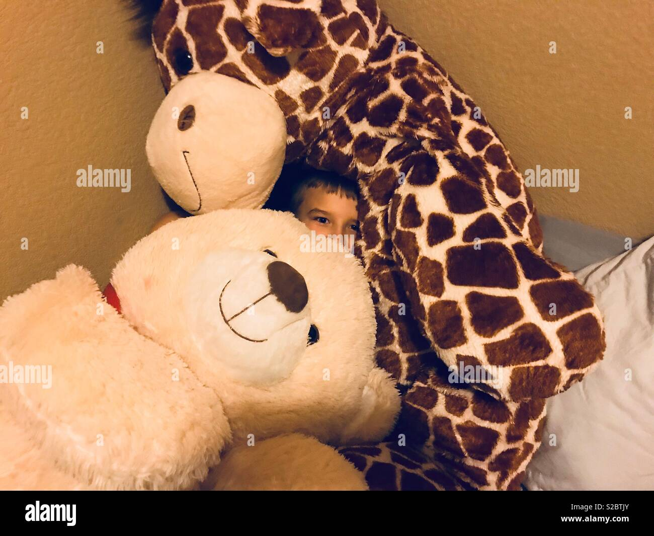 Hide Seek Kids: Giraffe Kids Toys Stock Photos & Giraffe Kids Toys Stock