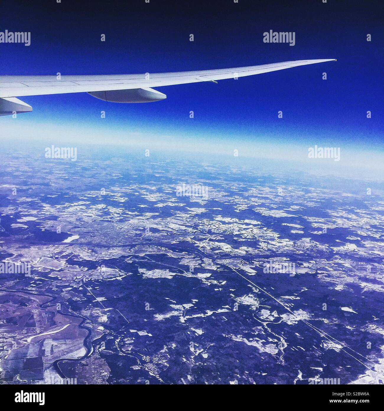 Up in the air, - Stock Image