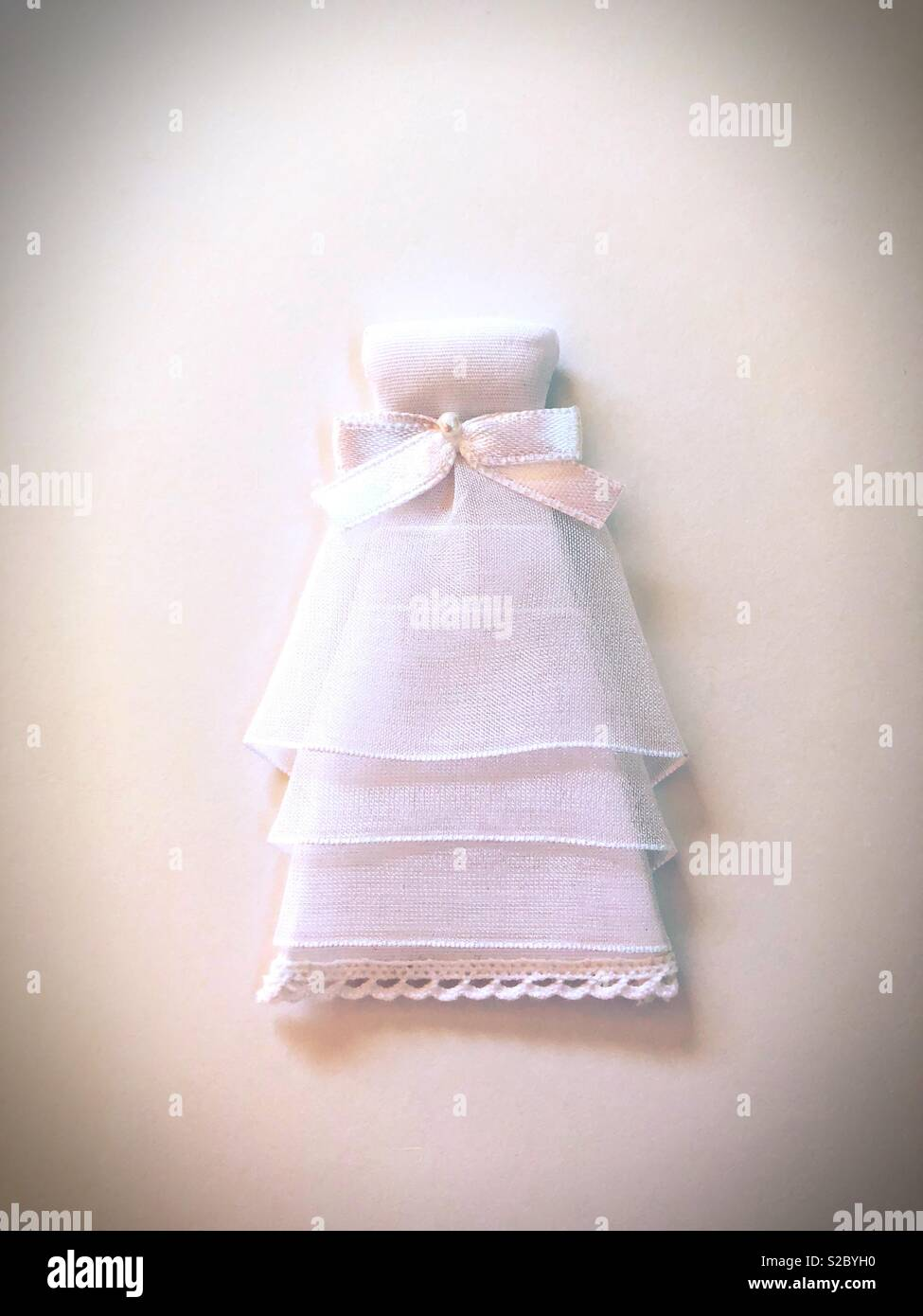 Conceptual: wedding dress. - Stock Image