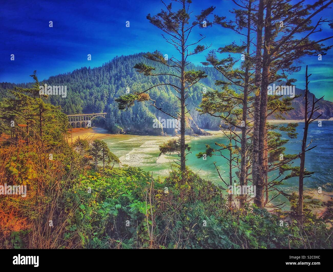 Ocean View - Stock Image